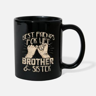 Siblings Siblings friends - Full Colour Mug