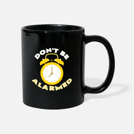 Alarm Clock Mugs & Drinkware - alarm clock - Mug black
