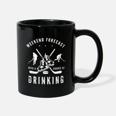 Stick Hockey and drink gift idea gift - Full Colour Mug