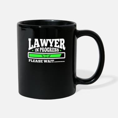 Lawyer at work Funny lawyer student gift - Full Colour Mug