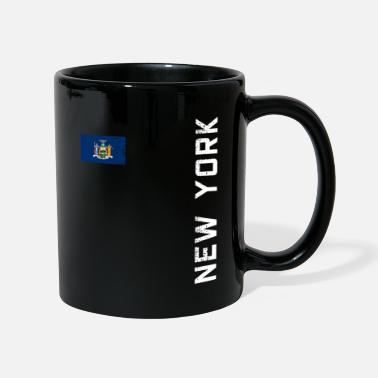 Ny Drapeau des armoiries de NEW YORK - Mug uni