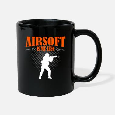 Paintball Airsoft Is My Life - Full Colour Mug