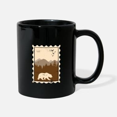 Collections Stamp Bear Canada Gift Kids - Full Colour Mug