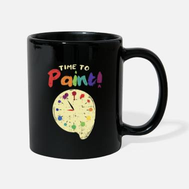 Painted PAINTING: Time To Paint - Mug