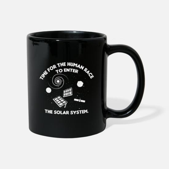 Wind Energy Mugs & Drinkware - Funny solar energy Solar energy saying idea - Mug black