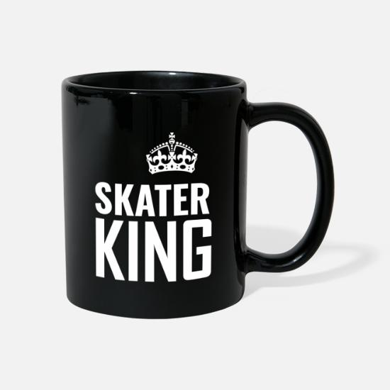 Floor Hockey Mugs & Drinkware - roller skates - Mug black