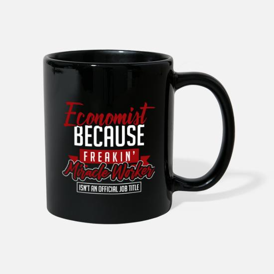 Capitalist Mugs & Drinkware - Economist profession - Mug black