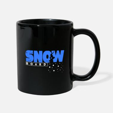 Popular Snowboard gift winter snow mountains - Full Colour Mug
