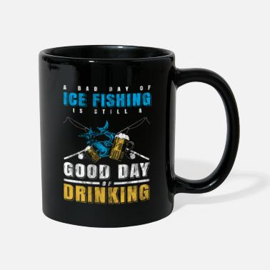Ice Ice fishing beer - Full Colour Mug