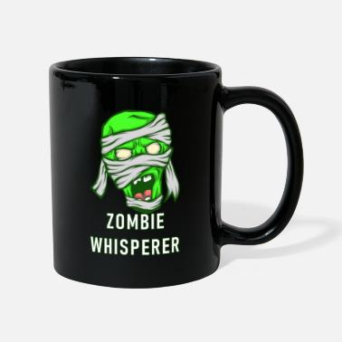 Virus Zombie | Horror Thriller Vendaje Creepy Monster - Taza de un color