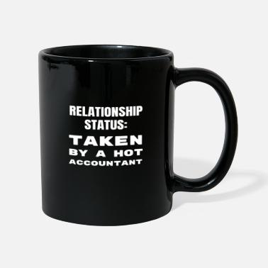 Witty Funny Accountant Boyfriend Girlfriend Relationship - Full Colour Mug