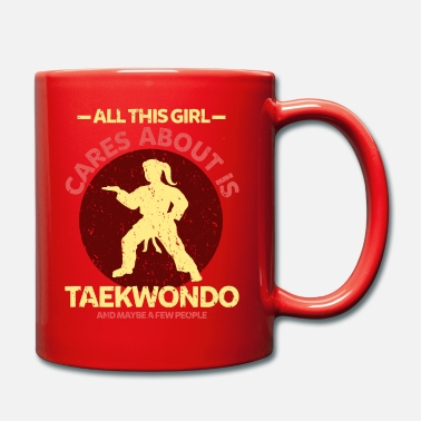 Queue De Cheval Queue de cheval fille taekwondo - Mug