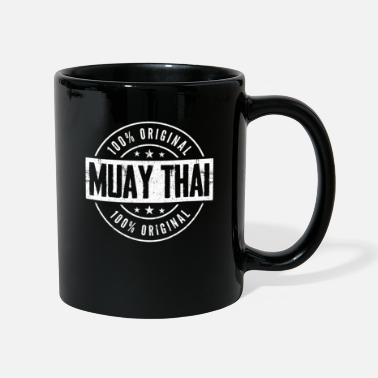 Kick Boxing Muay Thai Thailand kick boxes - Full Colour Mug