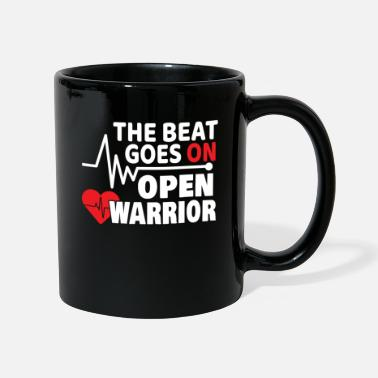 Heart The Beat Goes On Heart Attack Stroke Gift - Mug