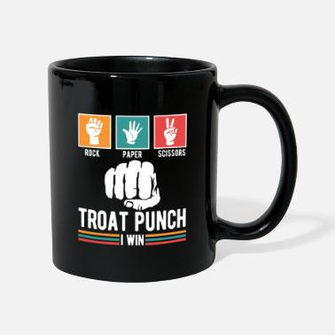 Punch Troat punch i win - Taza de un color