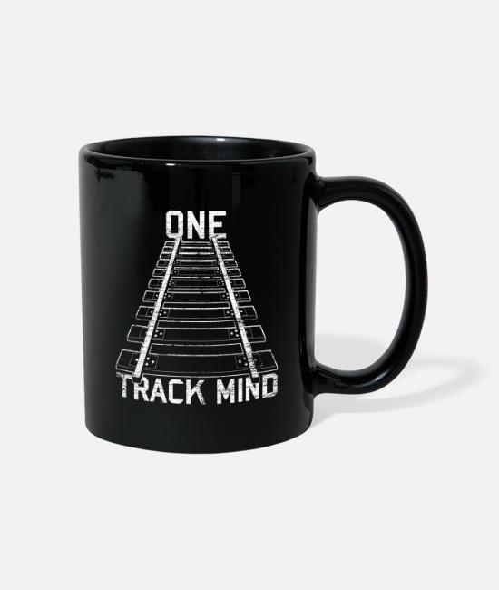 Railway Workers Mugs & Drinkware - Model Railway - Mug black