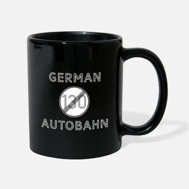 German Autobahn Finest German Autobahn - Tasse
