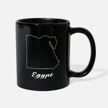 Carte Egypte carte carte - Mug