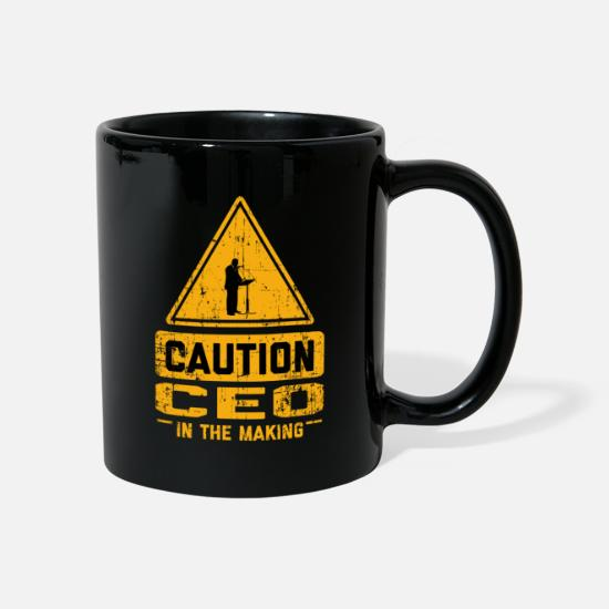 Ceo Mugs & Drinkware - CAUTION Ceo In The Making - Mug black
