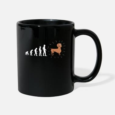 Fun Evolution Dachshund Dog Dogs Fun Fun - Mug