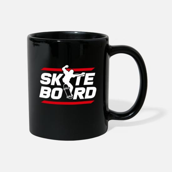 Sk8 Mugs & Drinkware - Skateboarder - Mug black