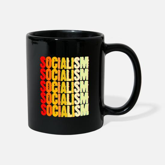 Politics Mugs & Drinkware - Communism Lenin Stalin Marx class struggle social - Mug black