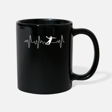 Sports Handball Heartbeat - Mug