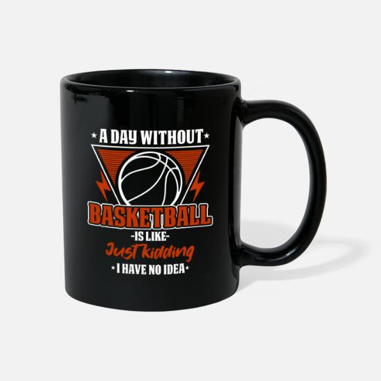 Basket Mugs & Drinkware - Basketball love - Mug black
