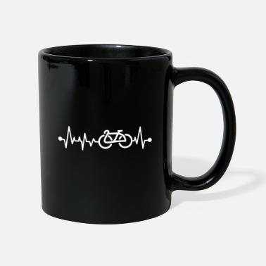Sit Bicycle heart pulse - Mug