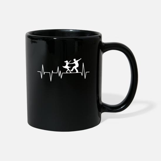 Dancer Mugs & Drinkware - Dancing dancer dancer music - Mug black