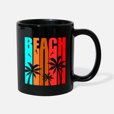 Summer Beach Summer Palm Holiday - Summer Vacation - Mug