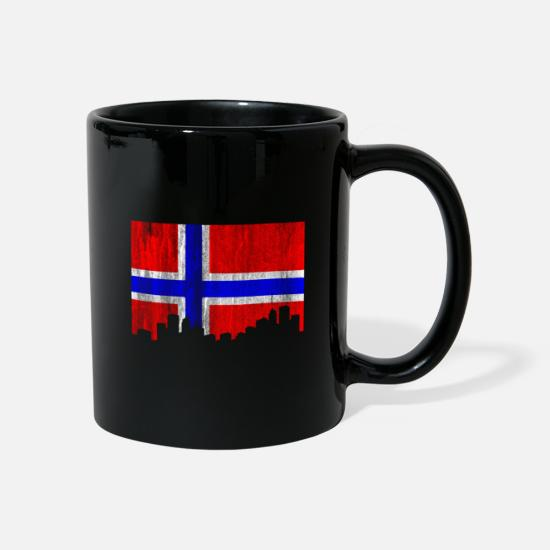 National Tassen & Becher - Norwegen - Tasse Schwarz