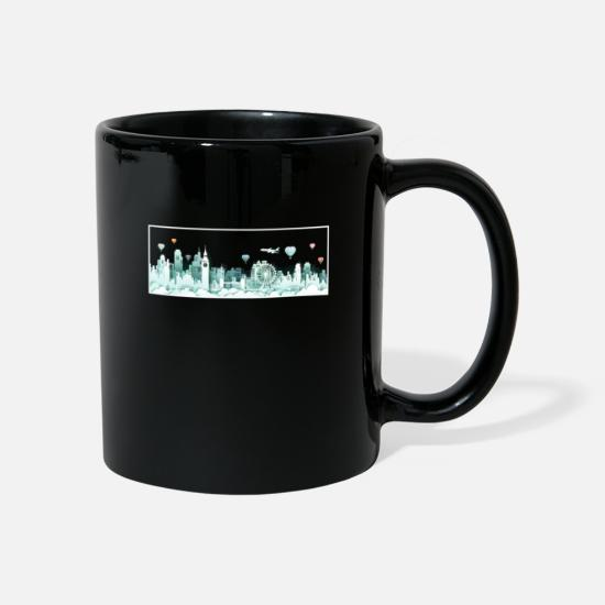 Big Ben Mugs & Drinkware - London skyline - Mug black