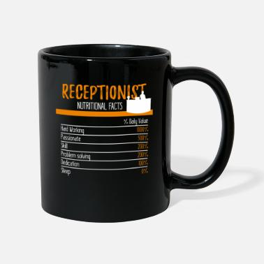 Receptionist Receptionist Ingredienser - Mugg