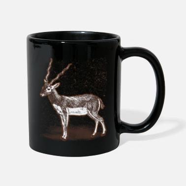 Tierkind Antilope Wildtier Afrika Safari Savanne Jagd - Tasse