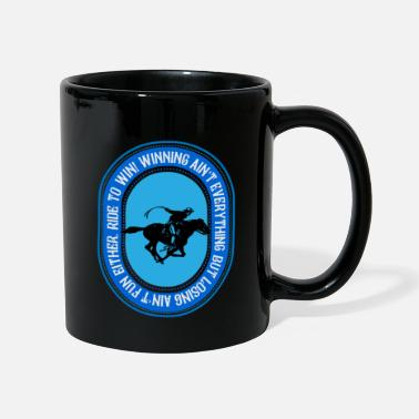 Cowboy Ride to win, riding to win - Mug