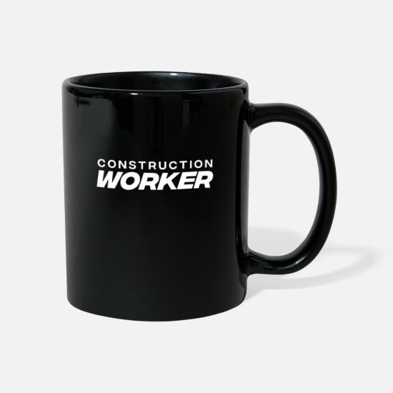 Renovate Mugs & Drinkware - Construction construction site construction worker scaffolding builder - Mug black