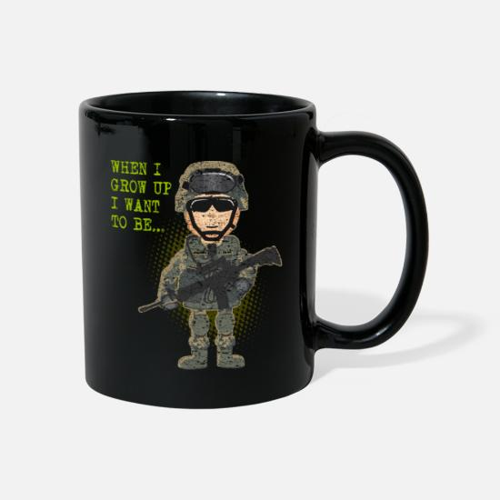 Luftwaffe Tassen & Becher - Luftwaffe Air Force Airforce - Tasse Schwarz