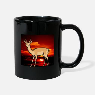 Droit Gazelle Africa Savanna Safari Gift - Mug