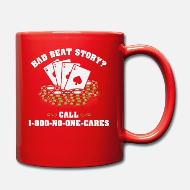 Chipleader Bad Beat Story Poker Poker Bluff Ass Chipleader - Mug
