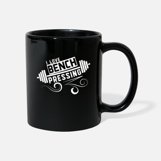 Gift Idea Mugs & Drinkware - Bench Press Bench Press Sport Bench Press Fitness - Mug black