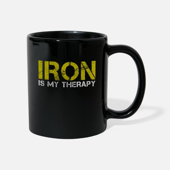 Chemistry Mugs & Drinkware - iron - Mug black