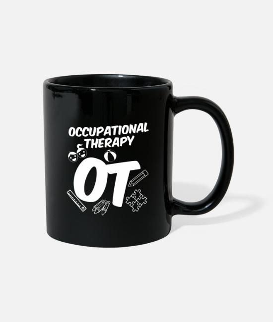 Bless You Mugs & Drinkware - Occupational therapy Occupational therapist - Mug black