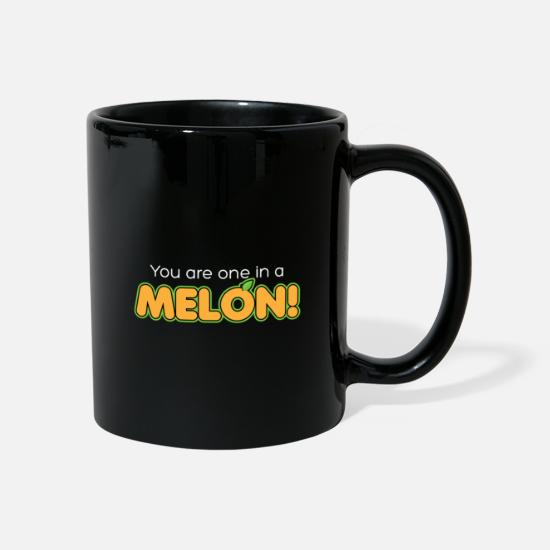 Heat Mugs & Drinkware - You are one in a melon - Mug black