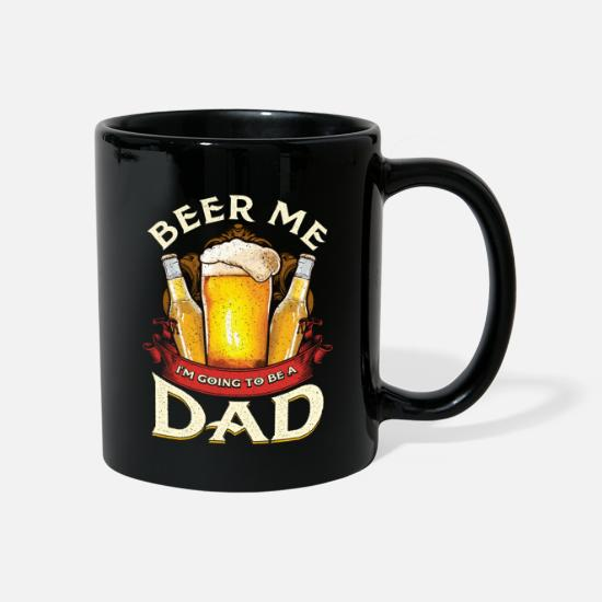 Gift Idea Mugs & Drinkware - Beer I'm going to be dad - Mug black