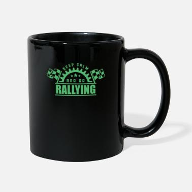 Rally Rally Rally Rally Car Rally Rallies - Mug