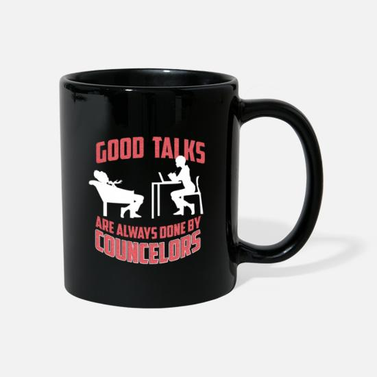 Gift Idea Mugs & Drinkware - Consultant profession gift - Mug black