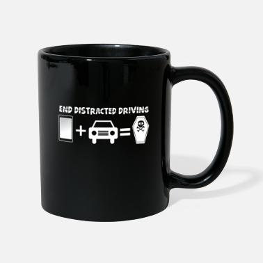 Drive-go-by-car Prevent distracted driving awareness car - Mug