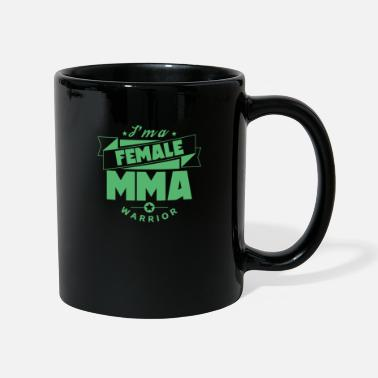 Myśliwiec Female Fighter Female MMA Mom Martial Arts - Kubek