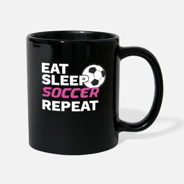 Goalie Soccer Soccer Player Gift Eat Sleep Soccer Repeat Soccer - Mug